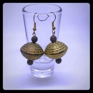 Spare bead earrings